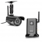 2.4G Wireless Waterproof Surveillance Security Camera w / 27-IR LED Night Vision - Black
