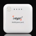 2000mAh Mobile Power USB Rechargeable Emergency Battery Pack w/ Adapters for Cell Phone + More