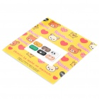 Cartoon Pattern Home Button Decorative Stickers for Samsung Tablet / Cellphone (6-Piece Pack)