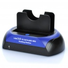 "USB 3.0 Dual-Bay 2.5""/3.5"" SATA & IDE HDD Docking Station - Black"