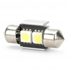 0.5W 10-20LM 6000K 2-SMD White Light Lamp