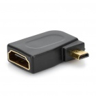 Straight / Right Angle 1440P Micro HDMI Male to HDMI Female Adapters Set