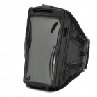 Sports Gym Mesh Arm Band Case for Samsung i9100 Galaxy S2 - Black
