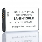 "Designer's Replacement 3.7V ""1300mAh"" Battery Pack for Samsung SMX-C10/SMX-C20/SMX-C24"