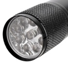Compacto 9 LED Flashlight 2 PACKS
