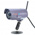 Outdoor Waterproof 300KP CMOS Wireless WiFi Network Surveillance Camera w/ 36-LED Night Vision