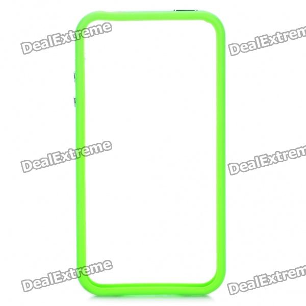 Protective TPU Bumper Frame for Iphone 4 / 4S - Green