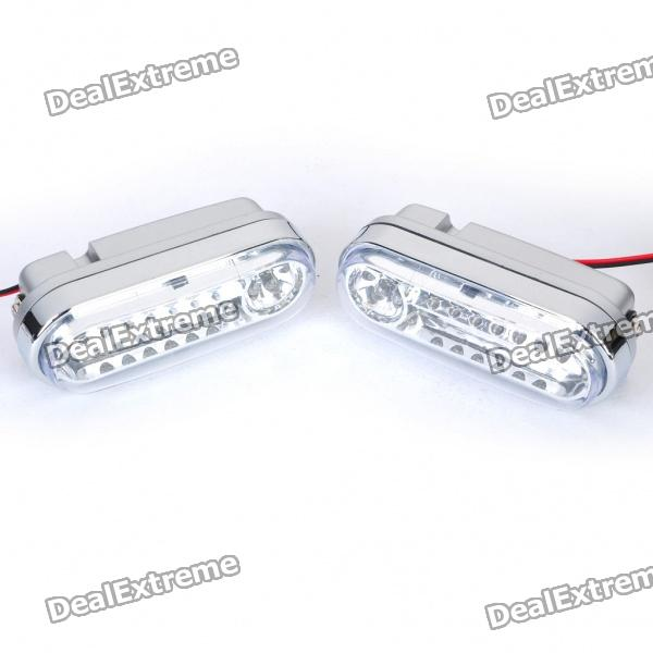 1.68W 21-LED White Light Daytime Running Lamp (Pair / DC 12V)