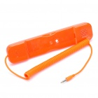Radiation Protection Handset for Iphone/Ipad - Orange (3.5mm Jack)