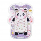 Cute Cartoon Panda Style Protective TPU Case for Iphone 4