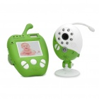 "2,4 GHz Wireless-2.0MP Sicherheit Surveillance Camera w / 2,4 ""LCD Baby Monitor (NTSC / PAL)"