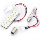 1W 6500K 16LM 12x5050 LED White Light for Car (12V)