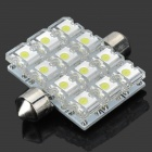 SV85 0.5W 80LM 6500K 12-LED White Light Reading Lamp (DC 12V)