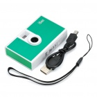 0.3 Mega CMOS Mini Camera - Green + White