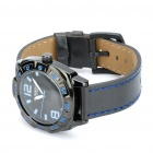 EYKI Stylish Stainless Steel Quartz Wrist Watch - Blue + Black + Silver (1 x LR626)