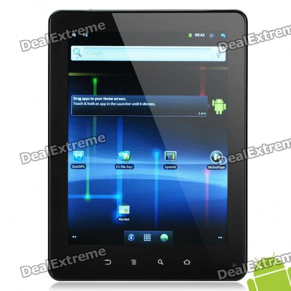 "TM8008 Android 2.3 Tablet w/ 8"" Resistive Screen and HDMI / TF / Mini USB / Wi-Fi - White"
