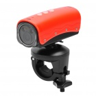 RD32II 5.0MP Waterproof Wide Angle Sports / Car Camcorder w/ 2-LED / Red Laser / HDMI / TF - Red