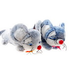 Cute Fluffy Mice Pencil Bag (Color Assorted)