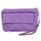 Multi Function Cosmetic Bag w/ Carrying Strap - Purple