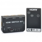 1080P HDMI 1.4 Switch w/ Remote Controller (4-In / 1-Out)