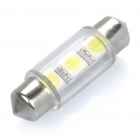 39mm 0,2 W 6500K 30-Lumen 3-LED White Light Car Leselampe (DC 12V)