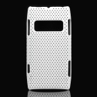 Super Slim Ventilating Net Protecting Case for Nokia X7 - White
