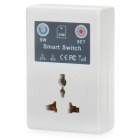 GSM Cell Phone Remote Control Power Switch w/ Universal Socket (AC 220V / 3-Flat-Pin Plug)