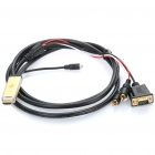 1080P HDMI 1.3 to VGA / Audio Converter Cable (2 Meters)