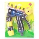 Hose Nozzle Spray Head for Water Spray Gun - Blue + Black