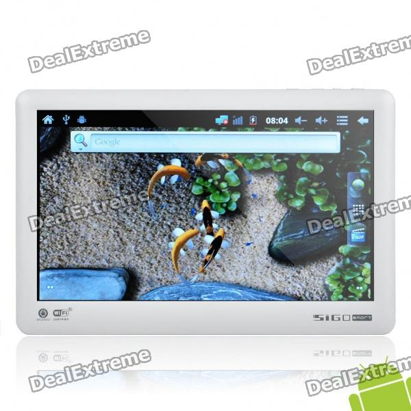 "Sigotech V700 Android 2.3 Tablet w/ 7.0"" Resistive, G-Sensor, Wi-Fi and Java - White"