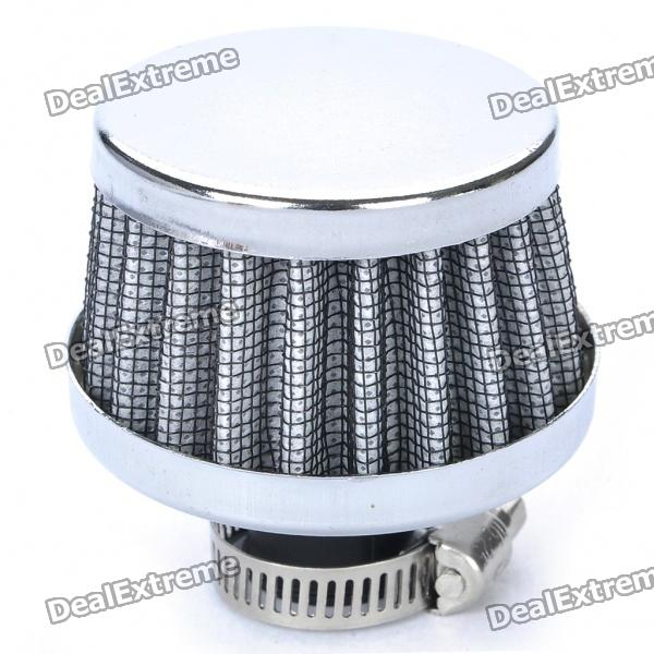 Universal Super Power Flow Air Filter for Car - Random Color epman universal 3 aluminium air filter turbo intake intercooler piping cold pipe ep af1022 af