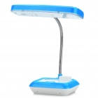 Stylish Rechargeable Flexible 2-Mode White 30-LED Desk Light Table Lamp (Blue + White)