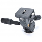 Genuine Velbon PHD-61Q Camera 3-Way Pan Head w/ Quick Shoe + 2 Handles for Camera - Black