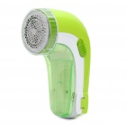 Rechargeable Sweater Fabric Clothes Shaver Fuzz Pill Lint Remover - Green (220V/50HZ)