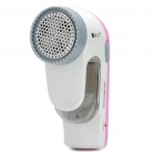 Rechargeable Sweater Fabric Clothes Shaver Fuzz Pill Lint Remover - Pink (AC 220V / 2-Flat-Pin Plug)
