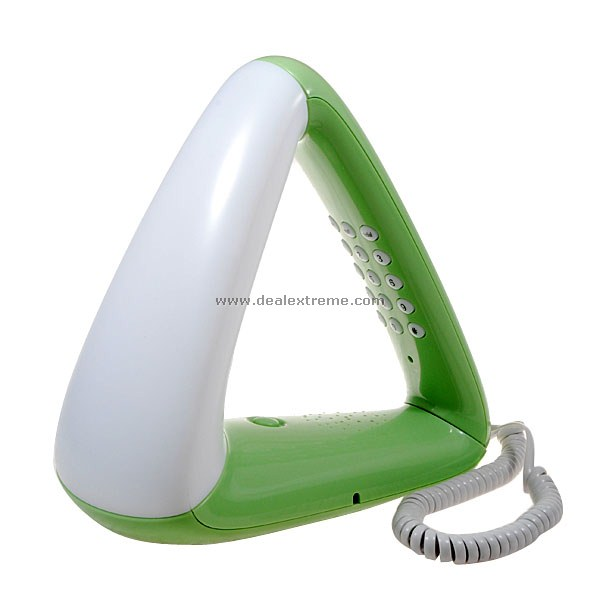 Stylish Triangular Telephone with Night Lamp (Color Assorted) от DX.com INT