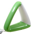Stylish Triangular Telephone with Night Lamp (Color Assorted)