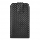 Protective PU Leather Cover PC Holder Case for Samsung Galaxy ACE S5830 - Black