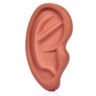 Creative Ear Shaped Protective Silicone Case for Iphone 4 / 4S - Coffee