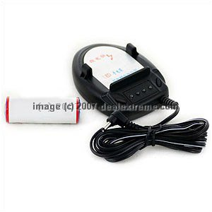 3.6V Li-Ion Rechargeable Battery With AC Charger