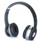 Designer's SOLO HD Bluetooth V2.1+EDR Stereo Headset + Sport MP3 Player w/ FM & TF Slot - Black