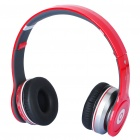 Designer ist SOLO HD Bluetooth V2.1 + EDR Stereo Headset + Sport MP3 Player w / FM & TF Slot - Red