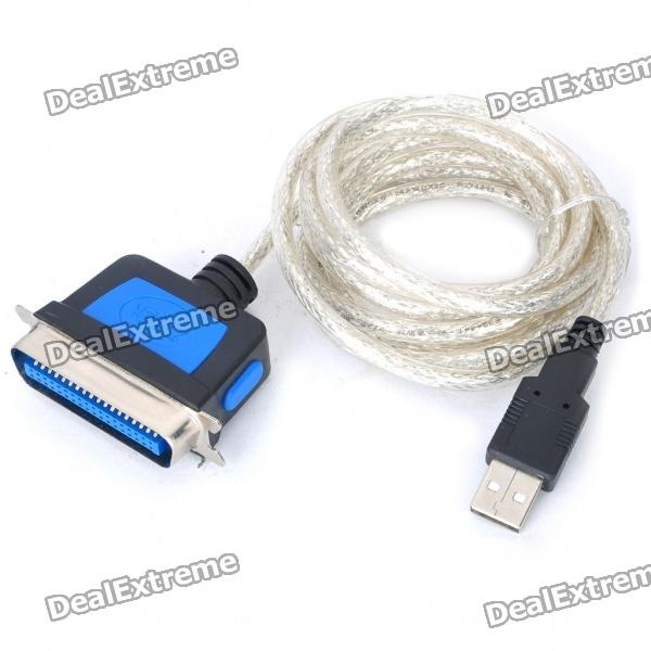 USB Male to IEEE 1284 Male Parallel Printer Cable (1.8M)
