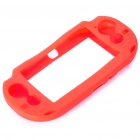 Protective Silicone Case for PS Vita - Red