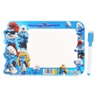 The Smurfs Figures Dry Erase White Board