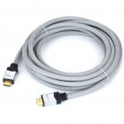 Z-TEK 2160P HDMI V1.4 Male to Male High Speed Ethernet 3D Connection Cable (5M)