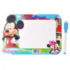 Mickey Figures Image Pattern Dry Erase White Board