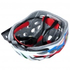 Cool 41 Vents Sports Cycling Helmet - White (Size-L)