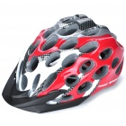 Cool 41 Vents Sports Cycling Helmet - Red + Black + White (Size-L)