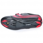 Stylish Bike Cycling Carbon Fiber Practical Shoes- Red + Black (EUR Size-39)